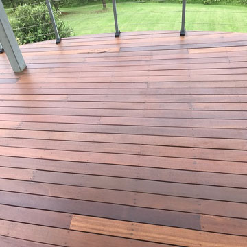 Deck Sanding and oiling